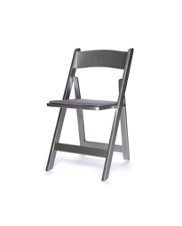 Superbe Silver Folding Chair