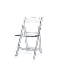 Clear Folding Chair